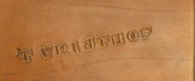 Restaurant t vrijthof Tongeren_logo boek