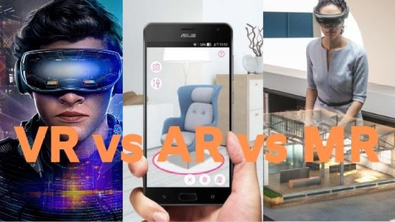 VR vs AR vs MR | Best Apps and Games, Differences and Real