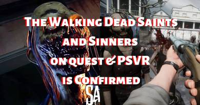 The Walking Dead Saints and Sinners on quest & PSVR release date