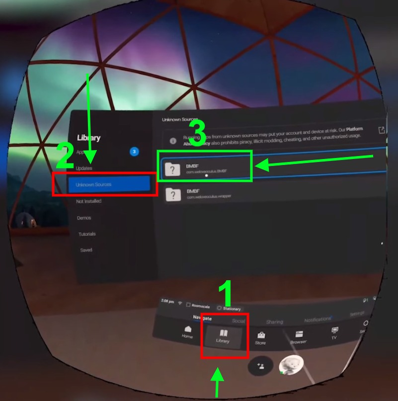 Installing Modded Beat Saber on Oculus Quest