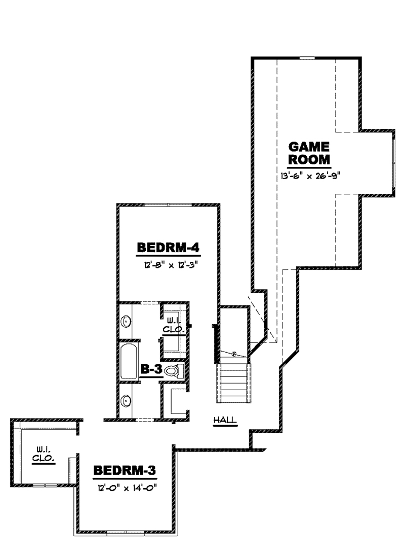 31 New Mountain Home Plans Sloping Lot Fresh Bungalow House Plan Second Floor 025d 0105