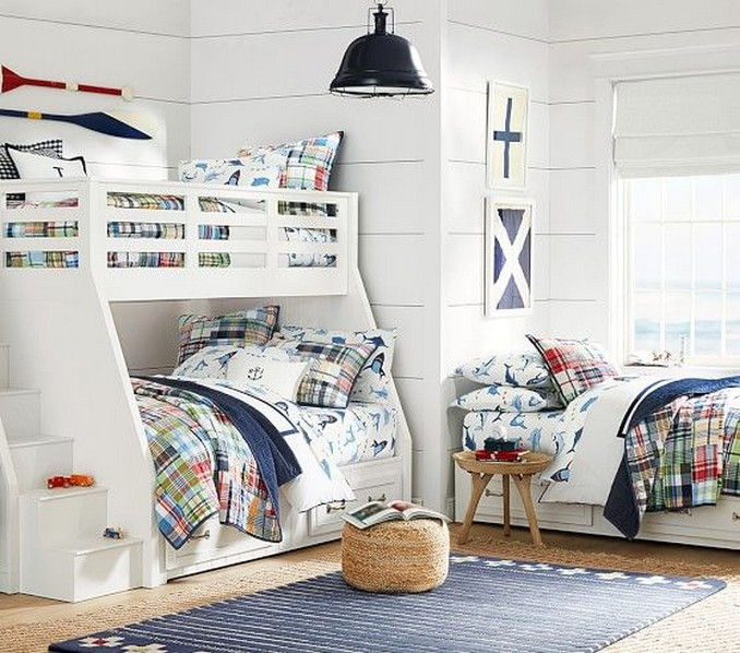 50 great ideas for decorating boys rooms 23
