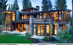 """53 best rustic mountain home plans luxury rkd architects have sent us photos of the """"valhalla residence"""" they"""