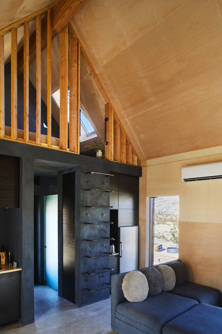 60 Small Mountain Cabin Plans with Loft Beautiful Gabled Metal Folly Cabins Provide Glamping Site In Joshua Tree