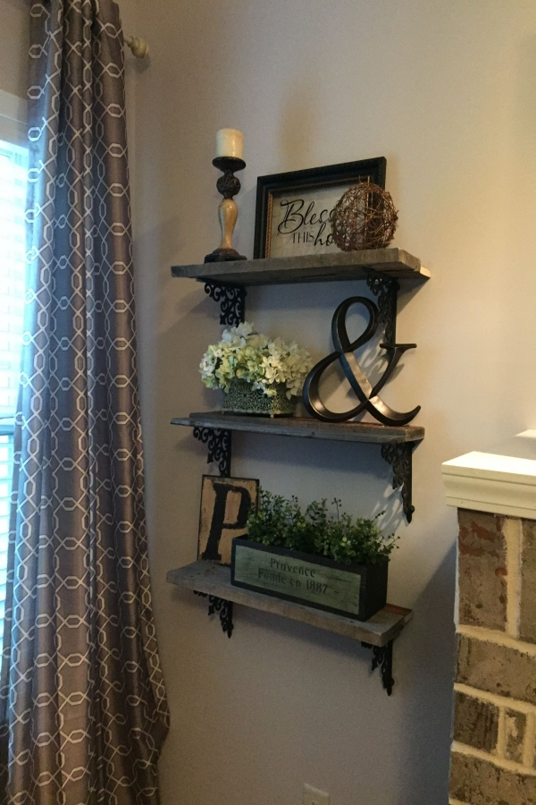 80 Floating Shelf Brackets Inspirational We Made theses Shelves for Less Than $20 Pallet Wood Free and
