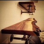 85 Sample Reclaimed Wood Floating Shelves Beautiful Pin by Cindy Seeley On House In 2019