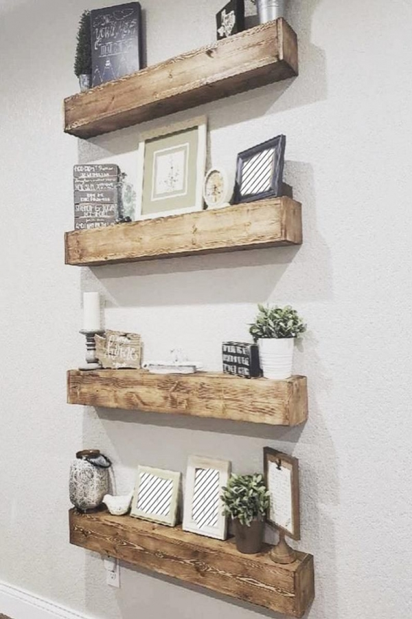 85 Sample Reclaimed Wood Floating Shelves Best Of Rustic Shelves Floating Shelves Wood Shelves Floating Shelf Wood