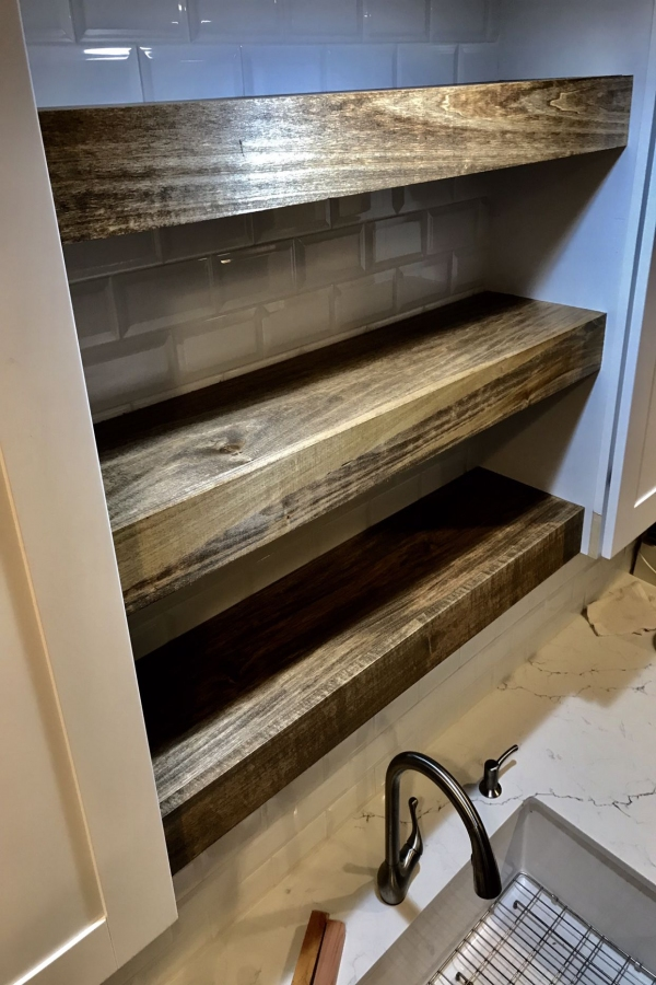 85 Sample Reclaimed Wood Floating Shelves Elegant Custom Wood Shelves Built to Fit Your Space