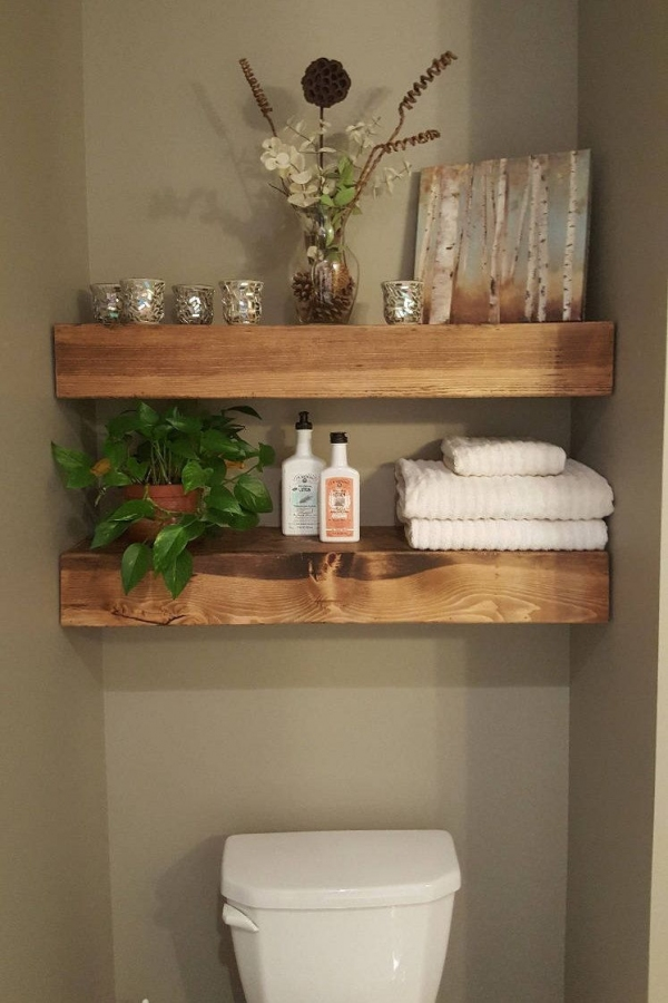 85 Sample Reclaimed Wood Floating Shelves Luxury Shipping Included Floating Shelves for Bathroom In 2019
