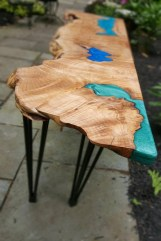 93 Live Edge Coffee Table New Coffee Table Resin sold Out Live Edgewood Resin River Live Edge