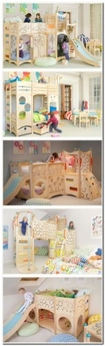 Bunk beds for kids the most fun they can have going to bed 15