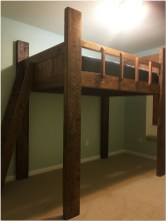 Futon bunk beds for kids 19