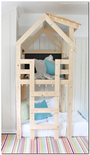 Ana white bunk bed diy over bed kids loft for the kids