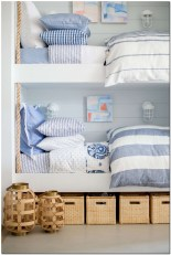 Bunk bed covers luxury newport beach bedding pillow bed kids bedroom