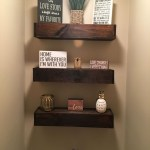 Reclaimed Wood Floating Shelves Fresh 43 Diy Floating Shelves Decoration for Living Room
