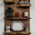 Reclaimed Wood Floating Shelves Unique Pallet Shelf Idea Diy In 2019
