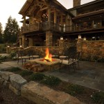 Rustic Mountain House Plans with Walkout Basement Awesome Locatiarchitects Portfolio Coeur Dalene Lake Residence Remodel