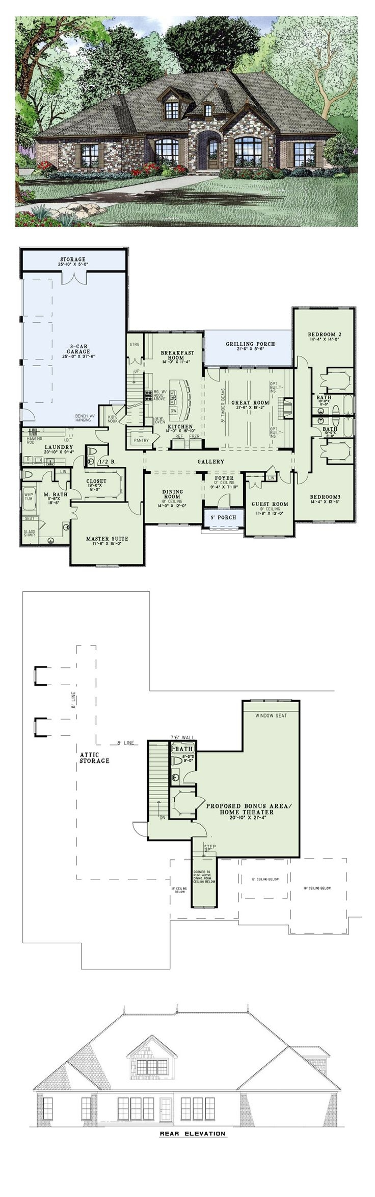 Rustic Mountain House Plans with Walkout Basement Elegant 80 Best House Plans Images On Pinterest