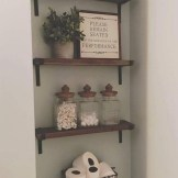✔️ 45 wall shelves design ideas how to decorate your home with wall shelves 20