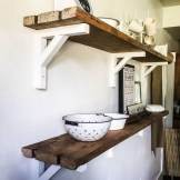 ✔️ 55 wall shelves design ideas show off your precious possessions with floating wall shelves 28