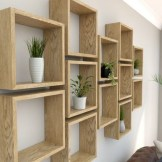 ✔️ 55 wall shelves design ideas show off your precious possessions with floating wall shelves 34