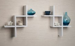 ✔️ 55 wall shelves design ideas show off your precious possessions with floating wall shelves 39