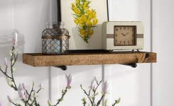 ✔️ 55 wall shelves design ideas show off your precious possessions with floating wall shelves 50