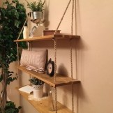 ✔️ 55 wall shelves design ideas show off your precious possessions with floating wall shelves 8