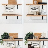 ✔️ 55 wall shelves design ideas show off your precious possessions with floating wall shelves 9