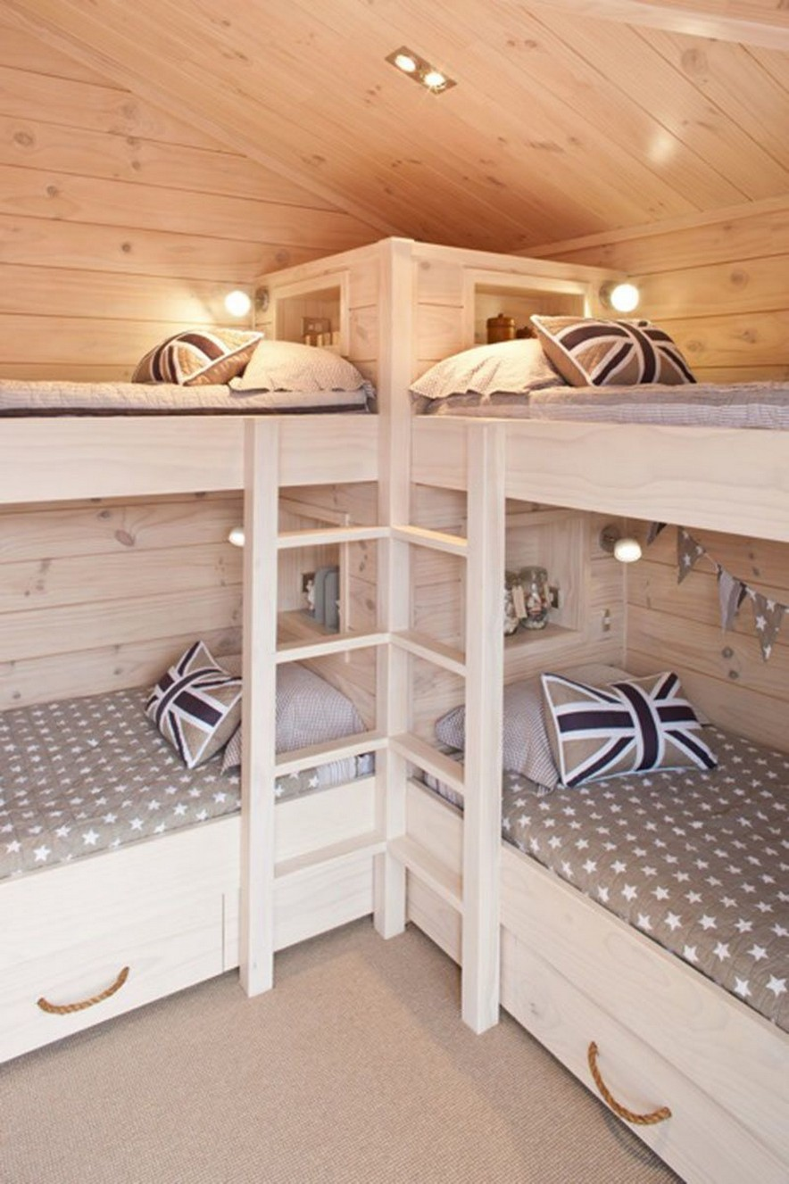 46 Best Choices Of Bunk Beds Design Ideas The Space Saving Solution 46