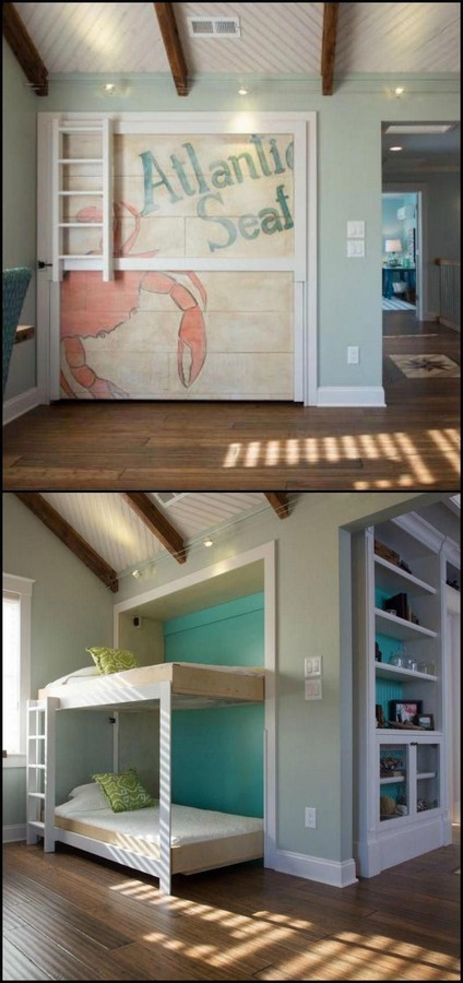 46 Kids Bunk Bed Decoration Ideas & Safety Tips 12