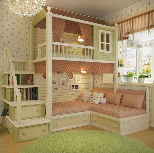 46 Kids Bunk Bed Decoration Ideas & Safety Tips 23