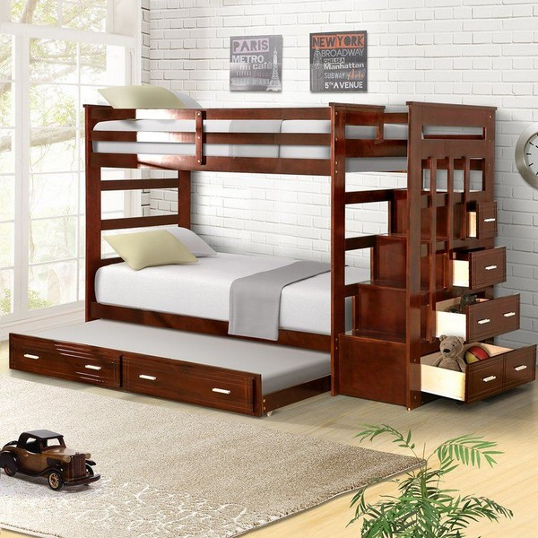 46 Kids Bunk Bed Decoration Ideas & Safety Tips 26