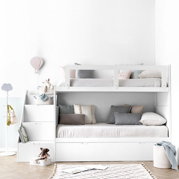 46 Kids Bunk Bed Decoration Ideas & Safety Tips 38