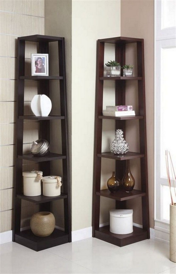 46 New Corner Shelves Ideas 016