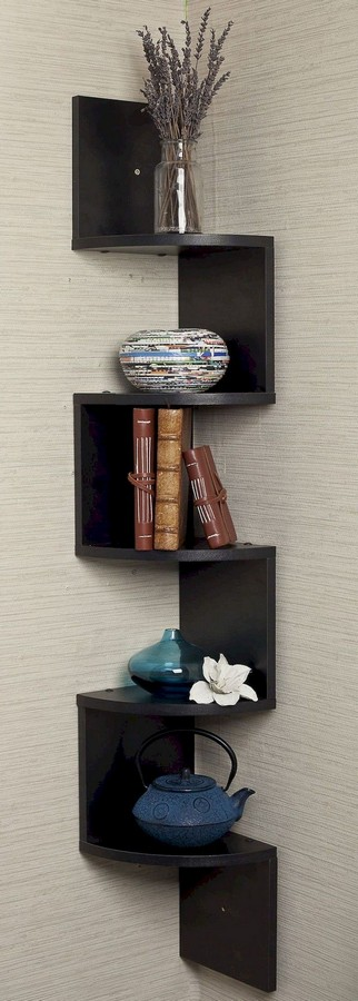 46 New Corner Shelves Ideas 032