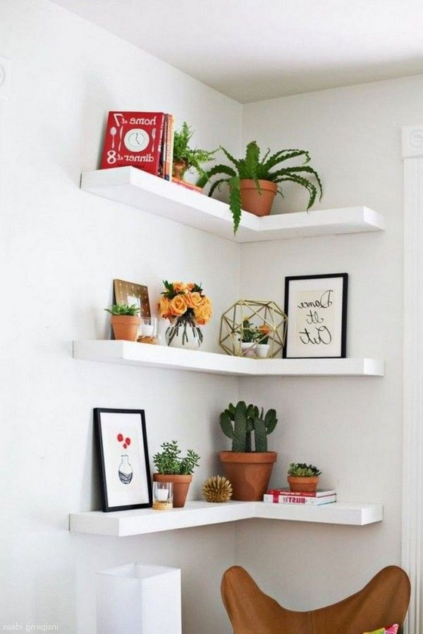 46 New Corner Shelves Ideas 035