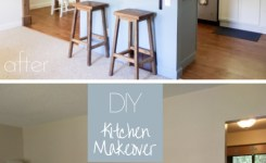 Modern Rustic Diy Kitchen Makeover Reveal