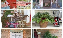 79 Beautiful Farmhouse Front Porches Decorating Ideas