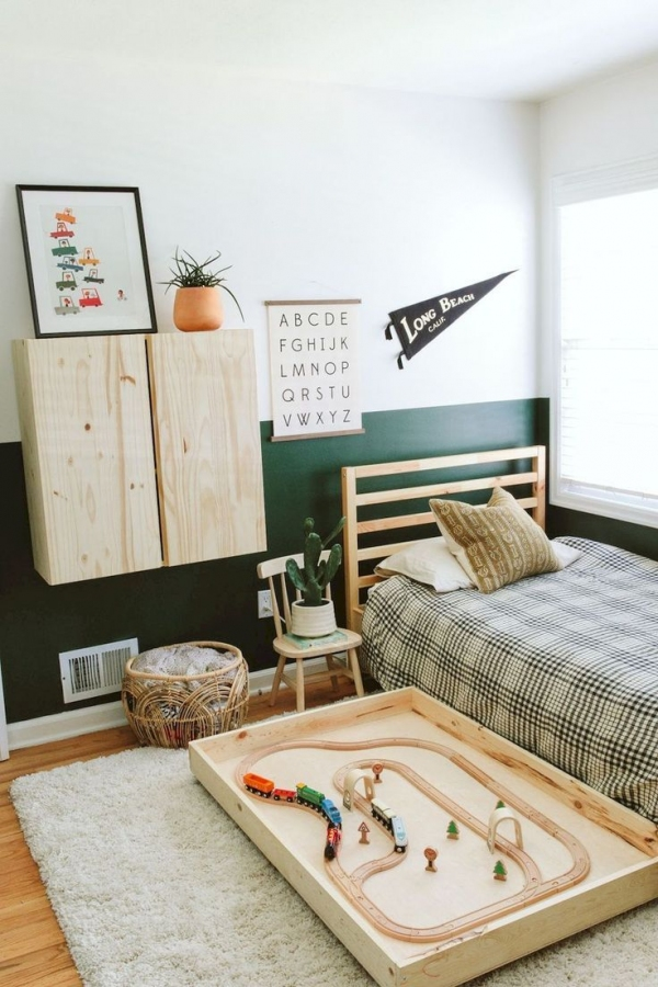 85 Awesome Bedroom Boy and Girl Decorating Ideas-3906