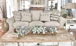 39 Rustic Farmhouse Living Room Design And Decor Ideas For Your Home
