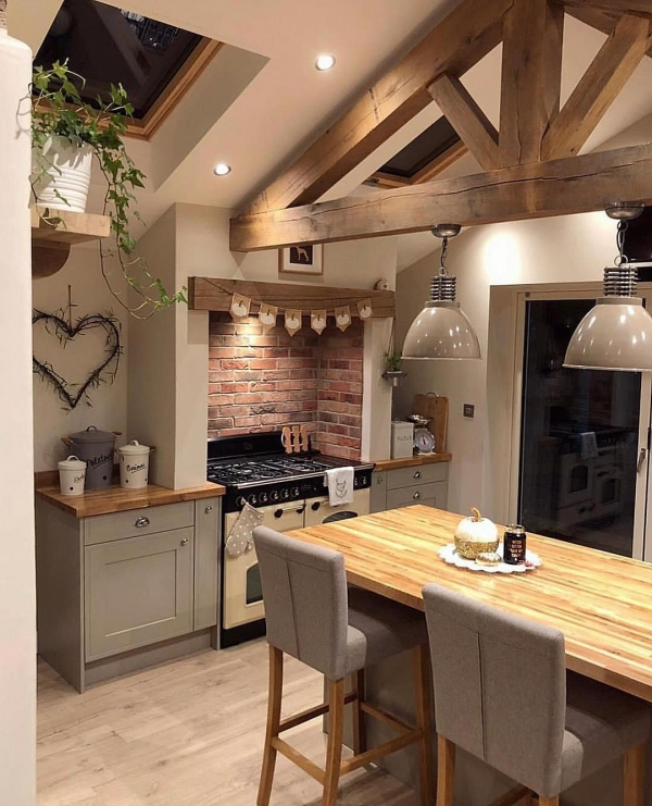 90 Rural Kitchen Ideas for Small Kitchens Look Luxurious 6199