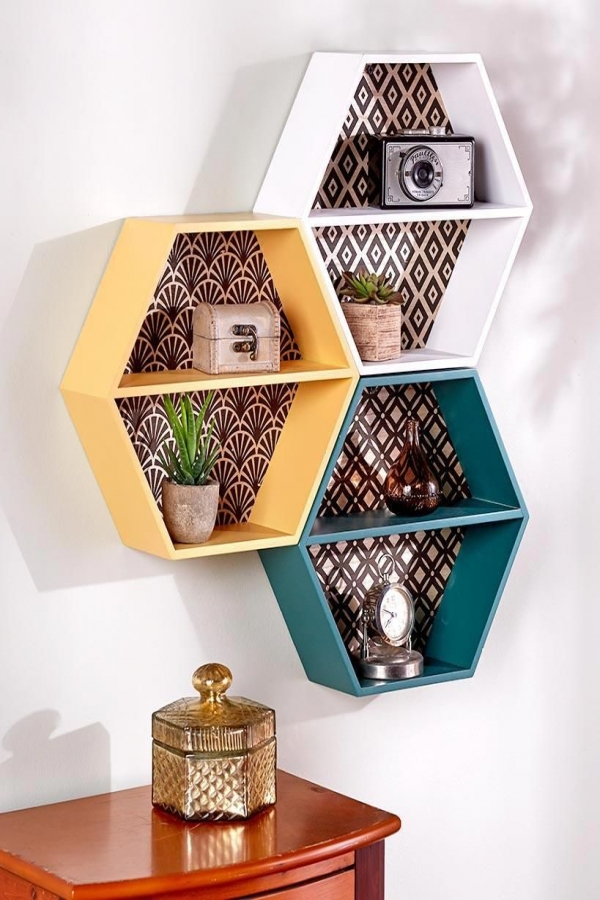 91 Most Popular Wall Shelf Ideas for Your Home Decoration-3433