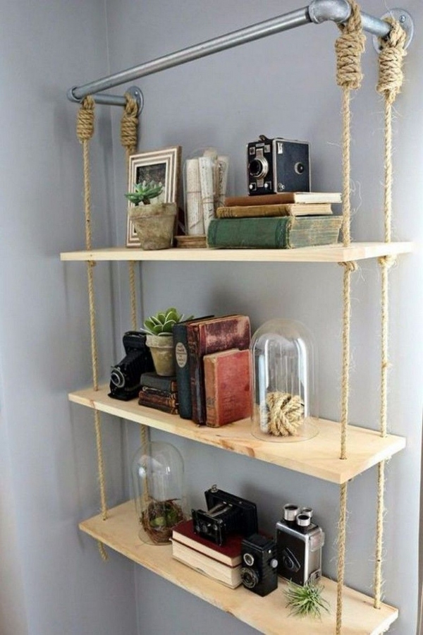 91 Most Popular Wall Shelf Ideas for Your Home Decoration-3453