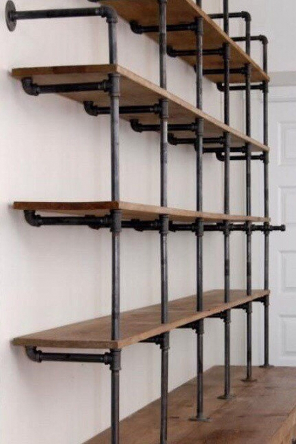 94 Models Wood Shelving Ideas for Your Home 3497