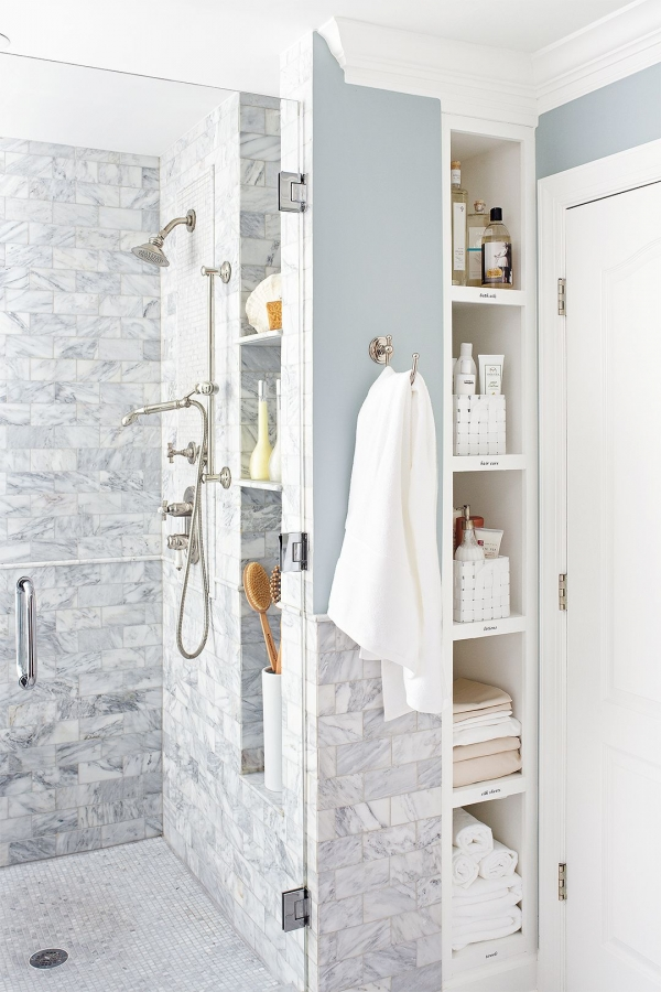 95 Beautiful Walk In Shower Ideas for Small Bathrooms 5693