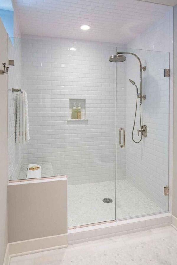 99 Beautiful Bathroom Shower Decoration - Look at them-3594