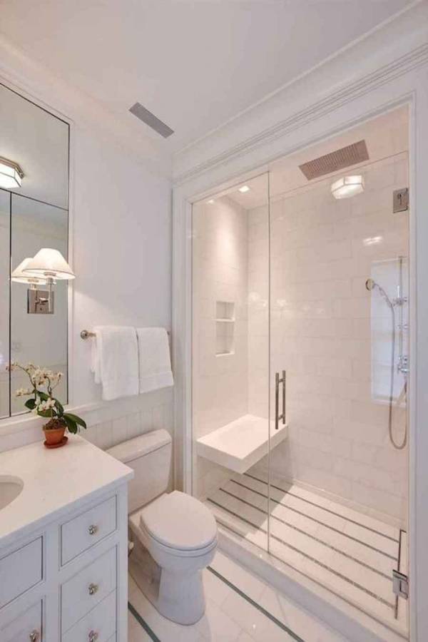 99 Beautiful Bathroom Shower Decoration - Look at them-3616