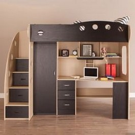 Permalink to Why Bunk Beds With Stairs And Desk?