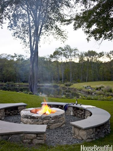 37 Most Popular Backyard Fire Pits Design Ideas- A Perfect Way to Entertain Guests 7077